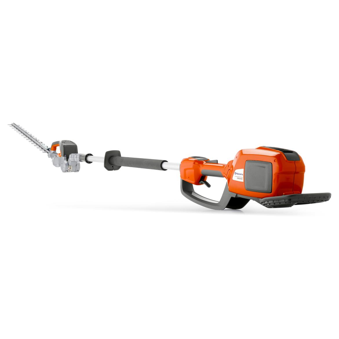 Husqvarna 536lihe3 36v cordless pole hedge trimmer kit for Garden tools accessories