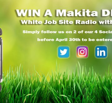 Win a Makita DMR104W DAB Radio!