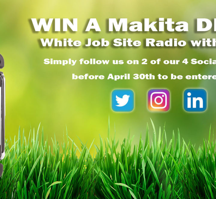 Win a Makita DMR104W DAB Radio!