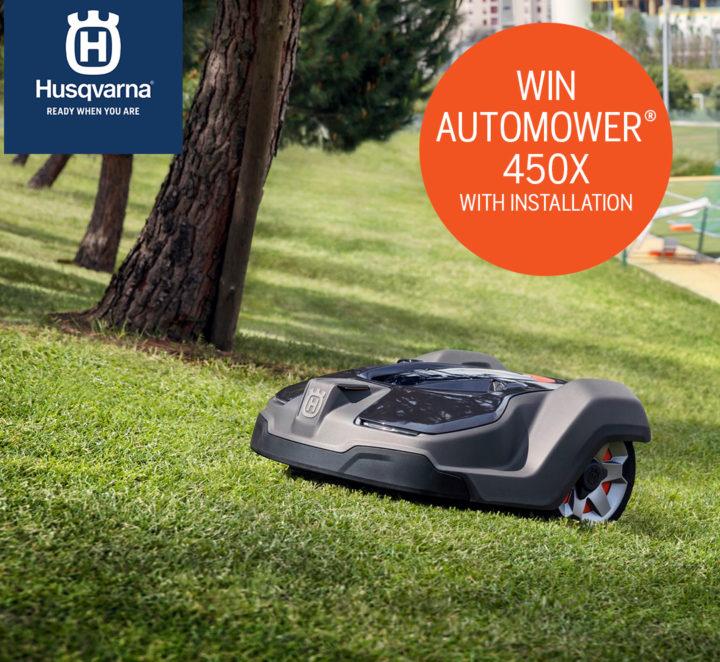 Chance to win a Husqvarna Automower 450X Worth £3,200