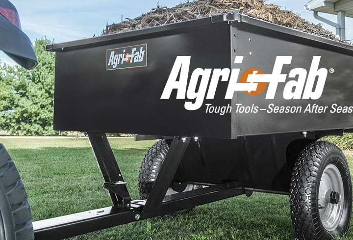 NOW SUPPLYING AGRI-FAB LAWN CARE PRODUCTS