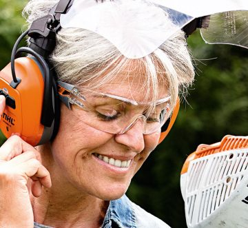 NEW! STIHL DYNAMIC HEADPHONE & VISOR