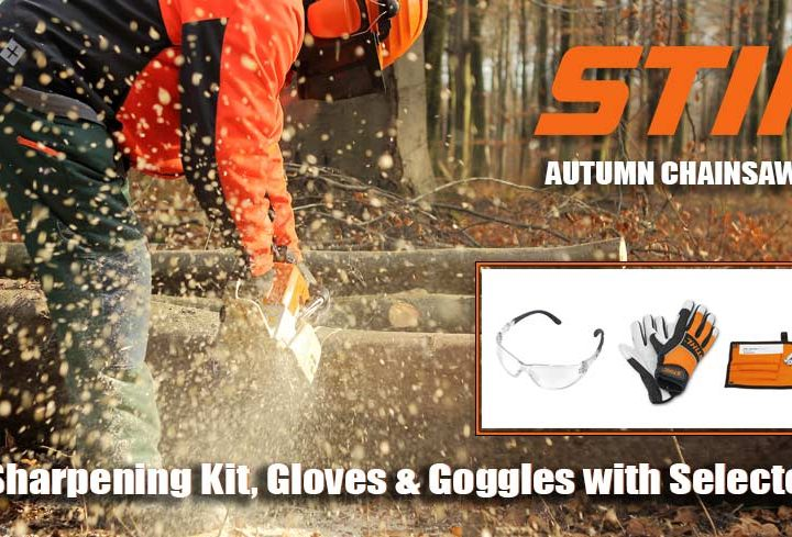 STIHL AUTUMN CHAINSAW PROMO
