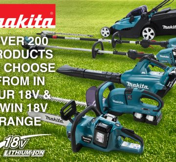 IMPROVE SAFETY WITH MAKITA'S BATTERY-OPERATED CHAINSAWS
