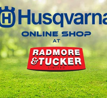 NEW HUSQVARNA ONLINE SHOP AT RADMORE AND TUCKER