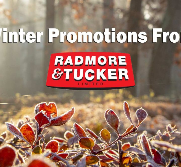 Winter Promotions from Radmore & Tucker