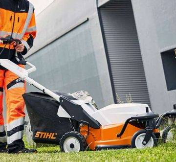 The Ultimate Cordless Lawn Mower for Pro Grounds Care