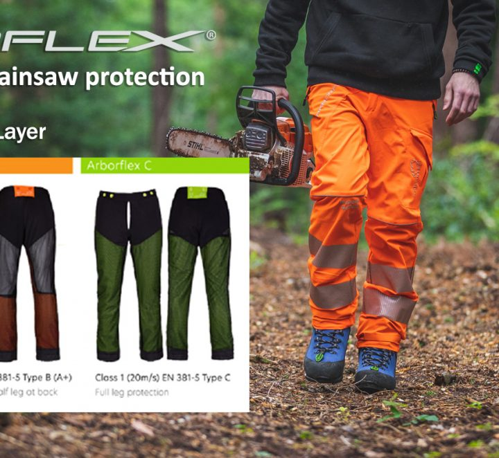 ARBORFLEX – A REVOLUTION IN CHAINSAW PROTECTION