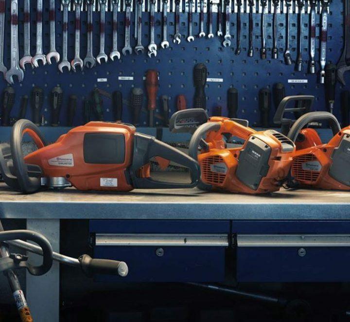 NEW HUSQVARNA CORDLESS MACHINES ADDED
