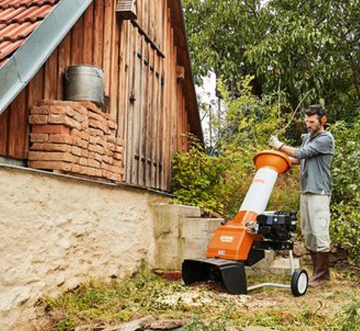 STIHL Electric Chippers and Shredders – Whats the difference?
