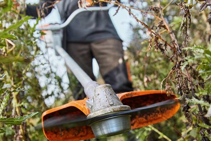 The right Stihl cutting attachment for the job
